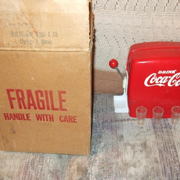 1950's coca cola toy dispenser MIB - Coca-Cola
