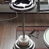 Vintage Stand Ashtray with Light