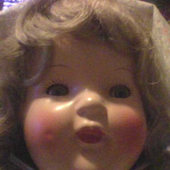 A PRETTY TIN SLEEP EYES DOLL - Dolls