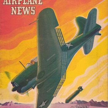 1943 - Model Airplane News magazine - May