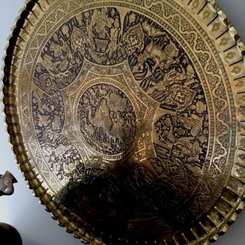 Engraved Brass Tray - Visual Art