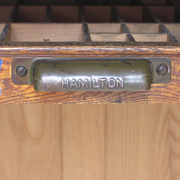 Looking for information on Hamilton Printer Cabinet