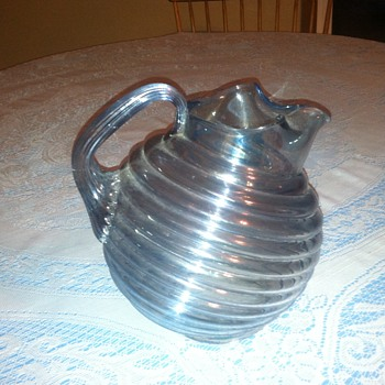 Possible Cambridge Ball Pitcher? - Glassware