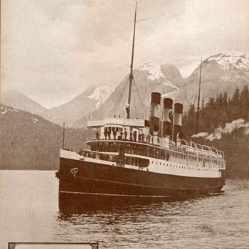 "1917 - Steamship ""Prince Rupert"" Photographs"