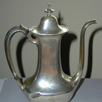 Whiting teapot - Sterling Silver