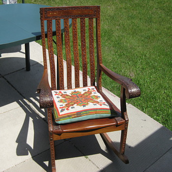 1950's India rocking chair