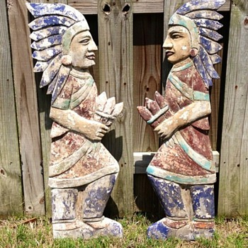 Wooden Cigar Indians  - Advertising