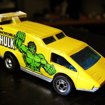 Incredible Hulk Van - Model Cars
