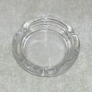 Clear Glass Ashtrays - Assorted