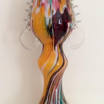Franz Welz spatter vase