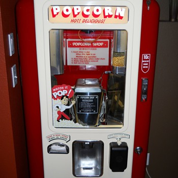 u pop it/minit pop/popcorn shop popcorn machine coin operated