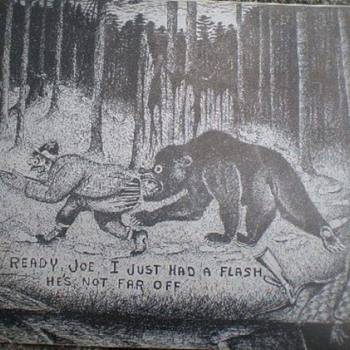 c1950 N.F.Pettingill Backwoods Hunters Humorous Post Card - Postcards