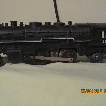 1666 locomotive - Model Trains
