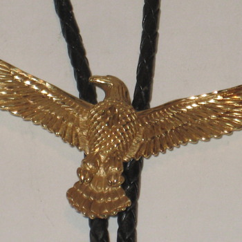 Eagle Bolo 14kt Gold - Accessories