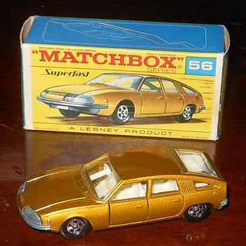 Matchbox BMC 1800 Pininfarina with Box  - Model Cars