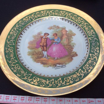 Limoges plate - China and Dinnerware