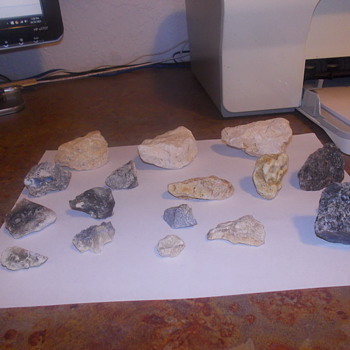 Some more of the rocks that were uncovered