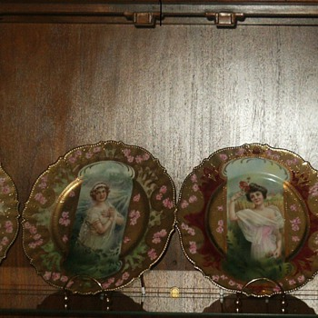 """The Four Seasons"" by RS Prussia, ca. 1905"