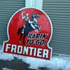 Lucky Frontier Sign