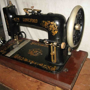 Longford (New Home) Sewing Machine - Sewing