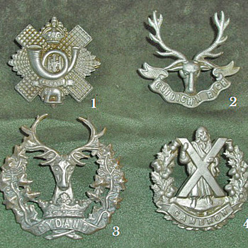 Badges for all 1914 British Line Infantry Regiments, Part 7 - Military and Wartime