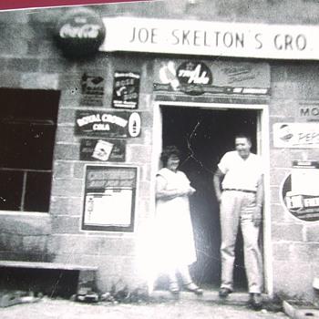 Granfathers store 50's - Coca-Cola