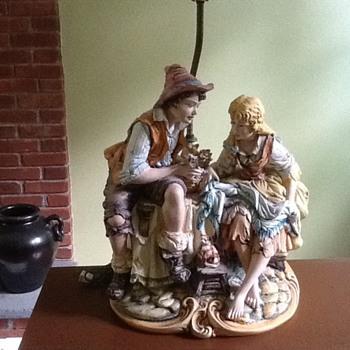 Figural lamp