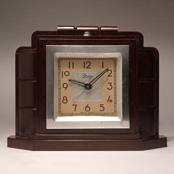 DEP Streamline Art Deco Alarm Clock