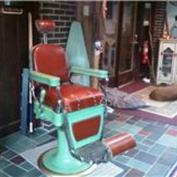 1933 Reliance Barbers Chair - Furniture