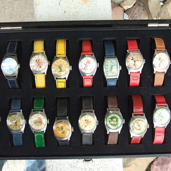 20th birthday Mickey watches - Wristwatches