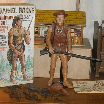 "Marx Daniel Boone 12"" Figure 1965 - Toys"