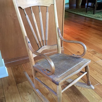 Antique Youth Rocker? - Furniture