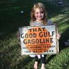 Good Gulf Gasoline flange sign