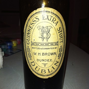 Early Guinness bottle - Bottles