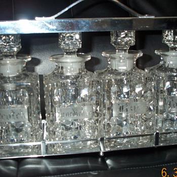 fostoria decanters??