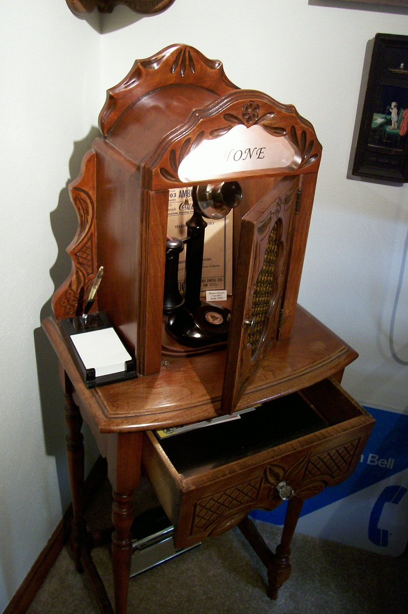 1920 S Telephone Table Cabinet Collectors Weekly