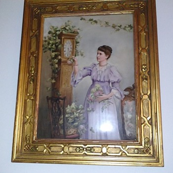 porcelain painting - Victorian Era