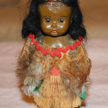 Vintage Maori Doll - Dolls