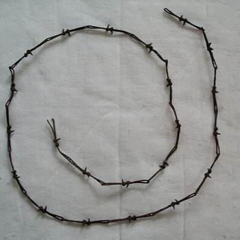 Antique Barbwire