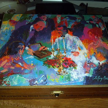 Leroy Neiman Playboy By Don Diego Cigar Box no. 181 - Tobacciana