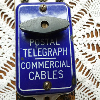 Before The Telephone, There Was Western Union & Postal Telegraph - Office