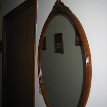 Black Walnut Mirror - Furniture