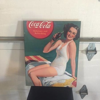 Coca-Cola Wooden Paintings???