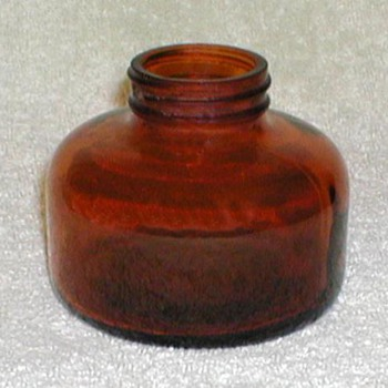 1947 - Bug Sprayer Brown Glass Bottle