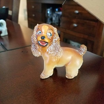 Vintage 'Unofficial' Lady from Lady and the Tramp look-a-like Dog figurine?
