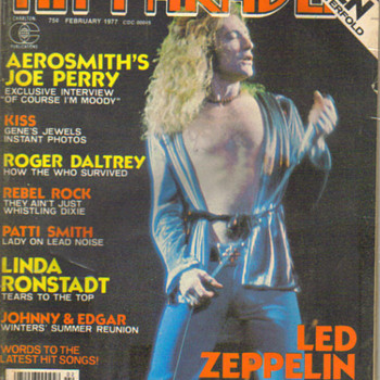 Hit Parader magazine (led zeppelin cover) - Music