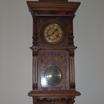 grandfather  wall clock - Clocks