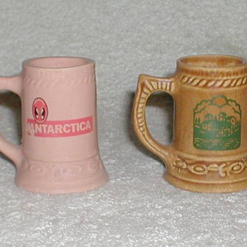 Ceramic Mini-mugs - Restaurant/Bar (Brazil) - Breweriana