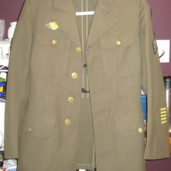 World War ll USAAF Wool Jacket  84th B Squadron / Twelfth Air Force - Military and Wartime