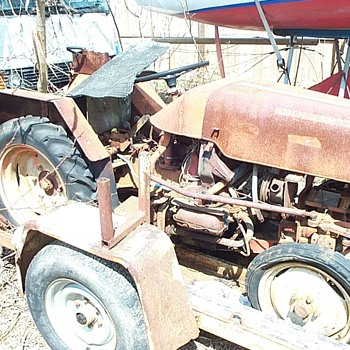 1967 Volkswagen Engine Powered Bungartz Tractor
